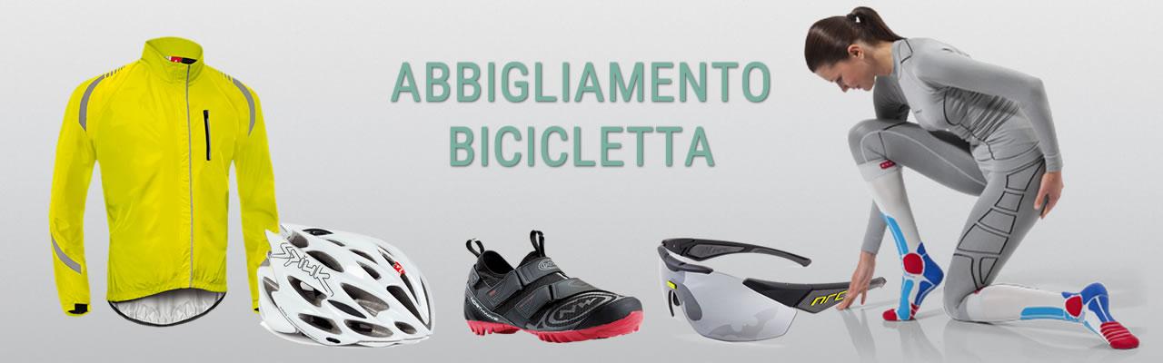 Abbigliamento per Ciclismo e Bicicletta