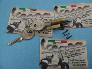 KIT SERRATURA BLOCCASTERZO VESPA 50 90 125 PX SPRINT