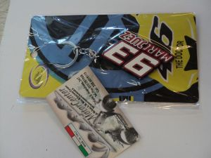 Portachiavi Marc Marquez 93 silicone anti-graffio