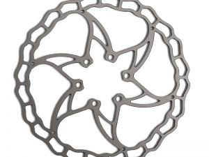 DISCO IN ACCIAIO ASHIMA 160 mm CROSS COUNTRY 66 gr