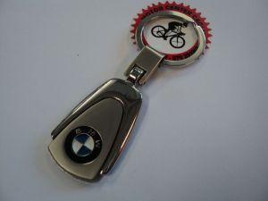 PORTACHIAVI BMW IN METALLO