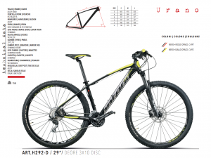 MTB MOUNTAIN BIKE MONTANA 29 DEORE