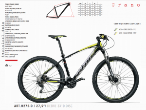 MTB MOUNTAIN BIKE MONTANA 3x10 DEORE 27.5