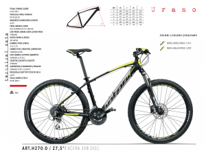 MTB MOUNTAIN BIKE MONTANA ACERA 3x8 27.5