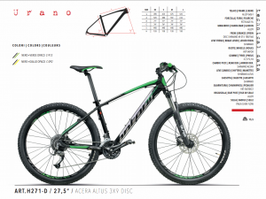 MTB MOUNTAIN BIKE MONTANA ACERA 3x9 27.5