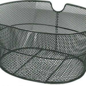 cestino anteriore ciclo ovale ferro nero