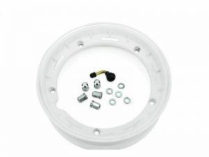 cerchio tubeless completo bianco ruota 10'' vespa gl px et3 primavera