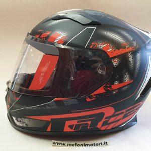casco integrale moto visiera antigraffio