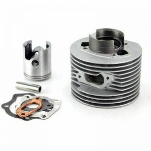gruppo termico lambretta 175 cc alluminio travasi modificati 4 mm