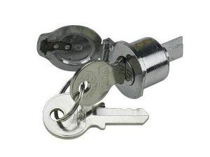 serratura modello c.a.m.a. per bloccasterzo lambretta li1 li2