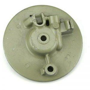 disco piatto porta ganasce freno anteriore lambretta li sx dl