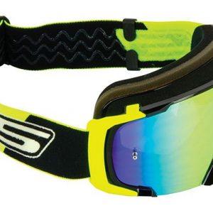 maschera motocross S1 lente iridio sfumata