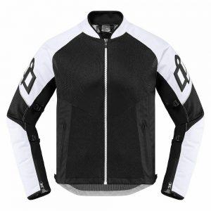 giacca moto da strada motard enduro icon mesh af