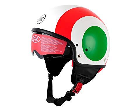 bhr ITALY casco ITALIA visiera anti graffio interni sfoderabili