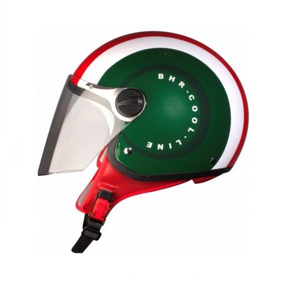 bhr cool italy casco italia visiera anti graffio interni sfoderabili