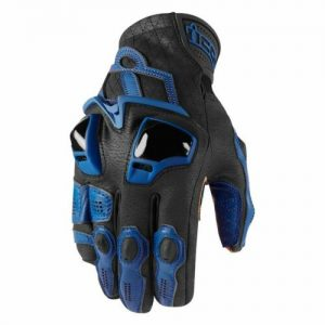 guanti in pelle moto da strada enduro motard icon hypersport short glove