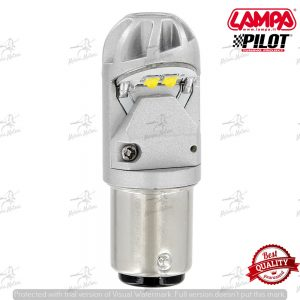 lampada led p21/5w BAY15d colore arancio