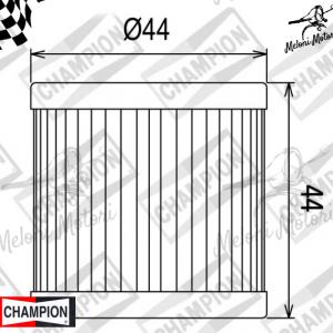 cof 039 filtro olio champion suzuki dr z - lt z - lt r 400