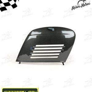 sportello vano motore in ferro carbon look vespa 50 special 90 125 primavera et3