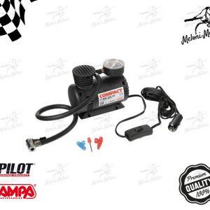 mini compressore compact portatile auto moto camper con manometro potenza 18 bar