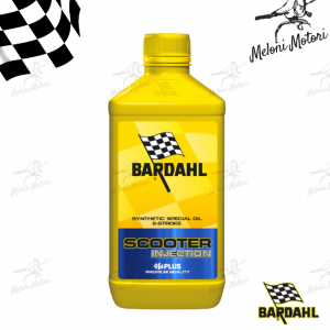 1lt olio motore bardahl scooter injection miscela 2t 2 tempi 100% sintetico