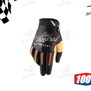 gloves guanti 100% ridefit class bk motard motocross XL