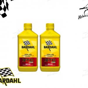 2 litri olio motore bardahl xtc c60 10w40 4t 4 tempi 100% sintetico