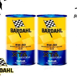 2lt 2 litri olio motore bardahl xta 5w-30 c3 polar plus premium quality
